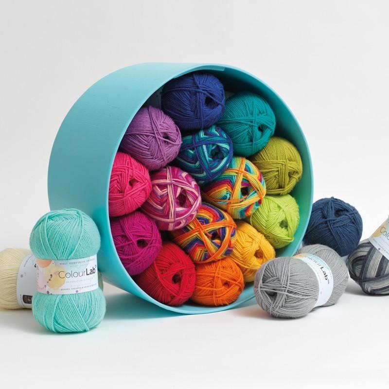 WYS - ColourLab DK - Eine Evolution in Farbe - 100% Schurwolle