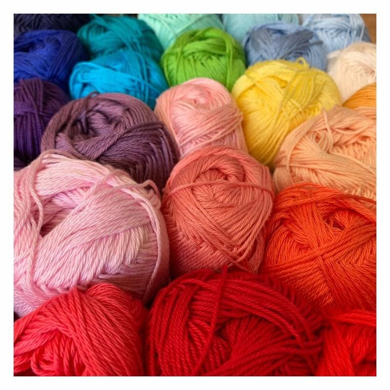 King Cole Giza Cotton 4ply - Garn aus 100% merzerisierter Giza-Baumwolle