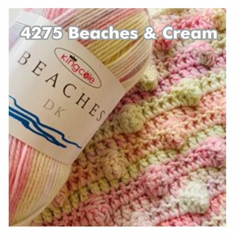 King Cole Beaches DK - Ein pflegeleichtes Garn in den Farbtönen der Traumstrände