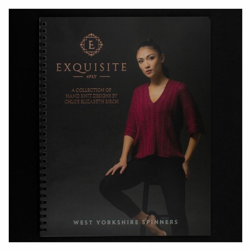 WYS - Exquisite 4ply - Musterbuch von Chloe Elizabeth Birch