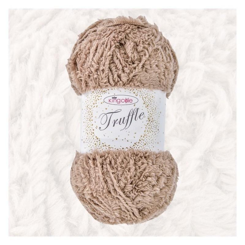 King Cole - Truffle - Kuschelgarn mit Teddy-Effekt