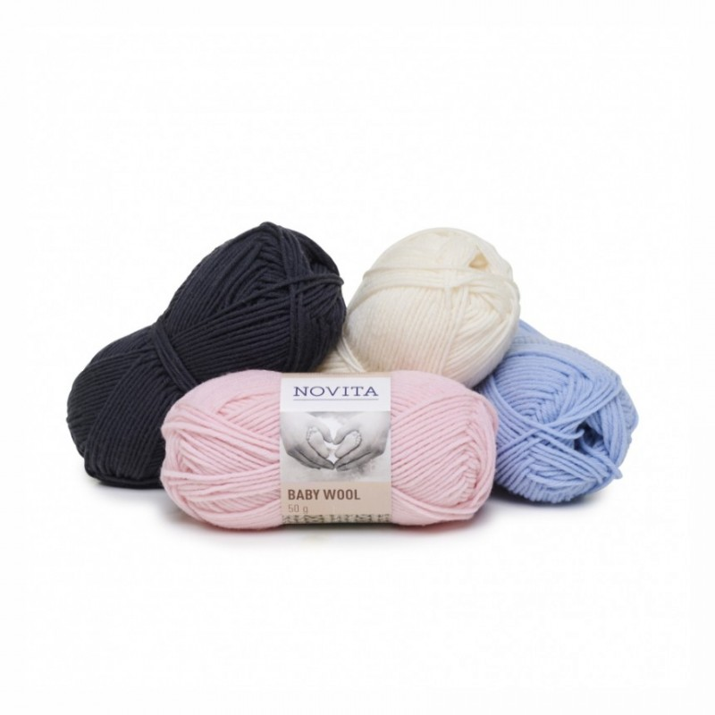 Novita Baby Wool DK - 100% Merinowolle