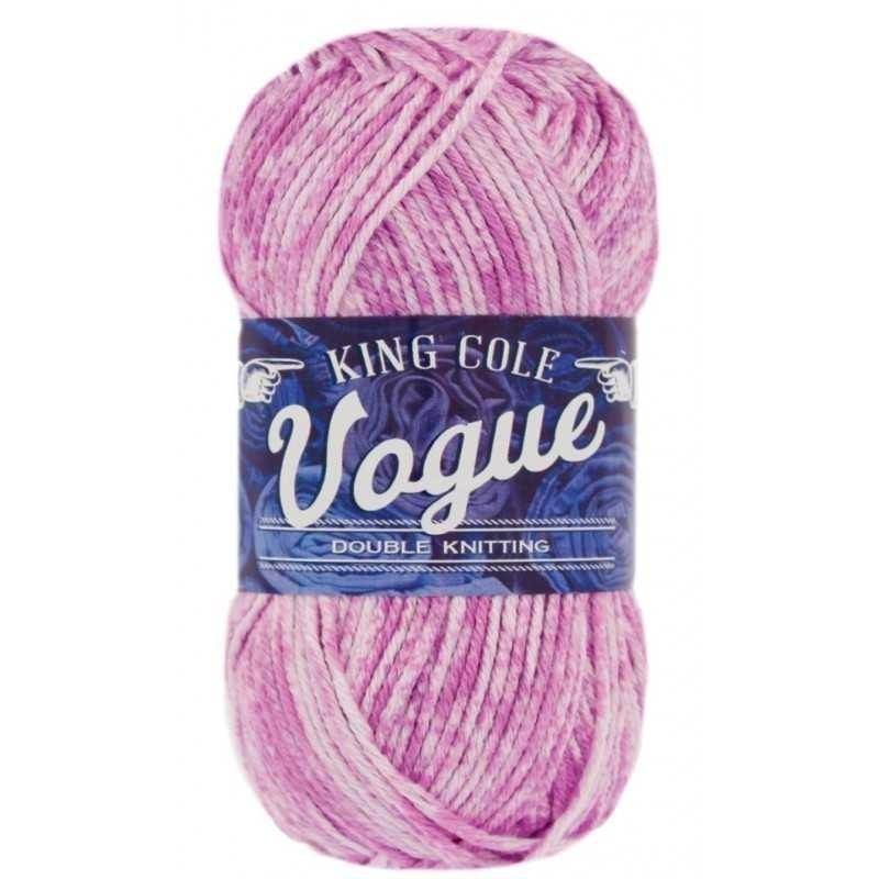 King Cole Vogue DK - Baumwollgarn mit Farbverläufen in frischen Farben