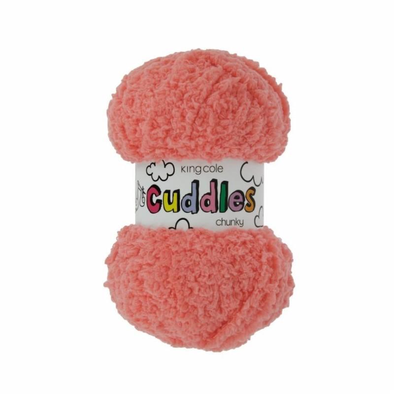 King Cole Cuddles Chunky - Super weiches, flauschiges Garn