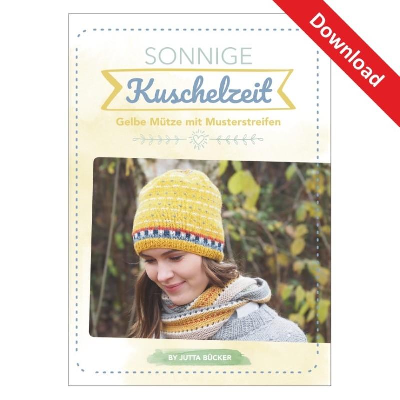 """Download """"Sunny"""" - Anleitung für eine Mütze aus NOVITA """"Nordic Wool"""" von Jutta Bücker"""