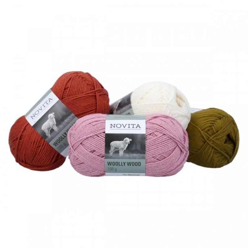 Novita - Woolly Wood - Modal-Faser Tencel mit feinem Merino