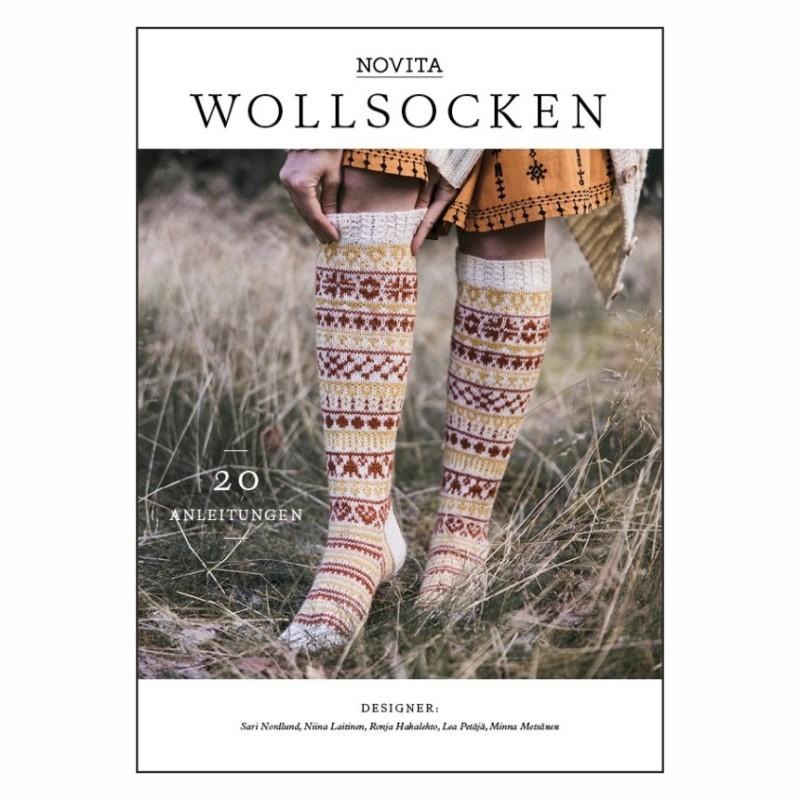 20 Finnische Anleitungen - Novita Wollsocken - das ultimative Anleitungsbuch