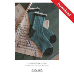 Cadenza-Socken aus Novita...