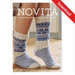 Kevät Socken aus Novita 7...