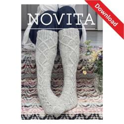 Saimaa Socken aus Novita 7...