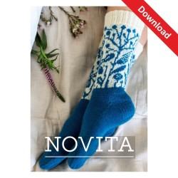 Socken Mitsommer aus Novita...