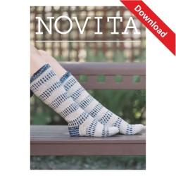 Eiszapfensocken aus Novita...