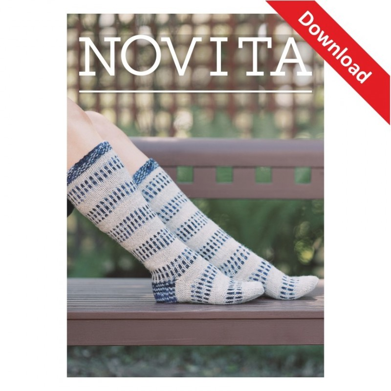 Eiszapfensocken aus Novita 7 Brothers Download-Anleitung