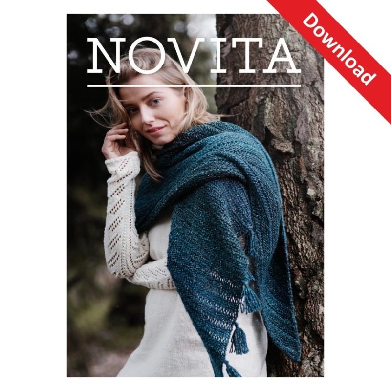 Dreieckstuch Pohjola aus Novita 7 Brothers - Download-Anleitung