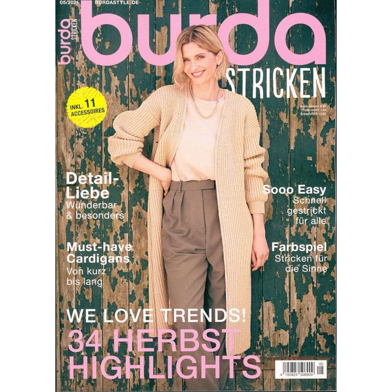 Burda Stricken - 05/2021 - 34 Herbst Highlights